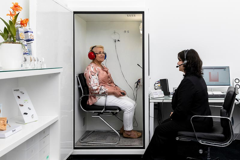 Hearing Test Speech Audiometry