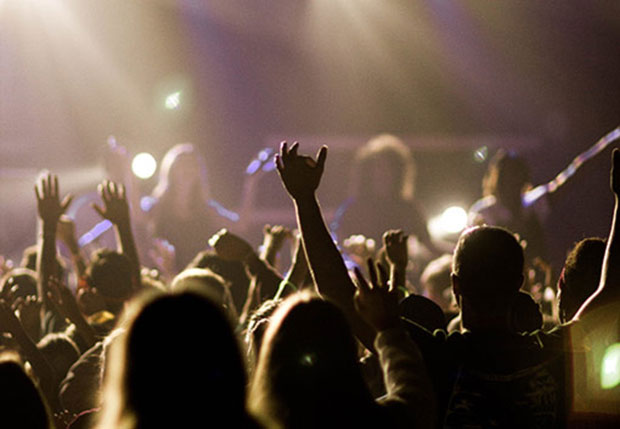 Concerts and loud noise can cause hearing damage