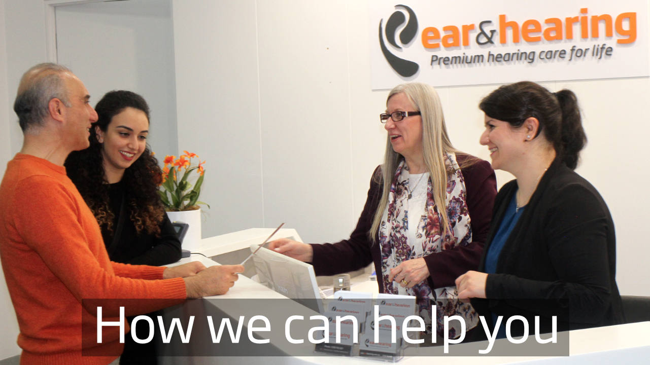 How we can help you at Ear and Hearing Australia