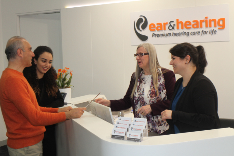 Ear and Hearing reception
