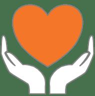 Sensitive care icon