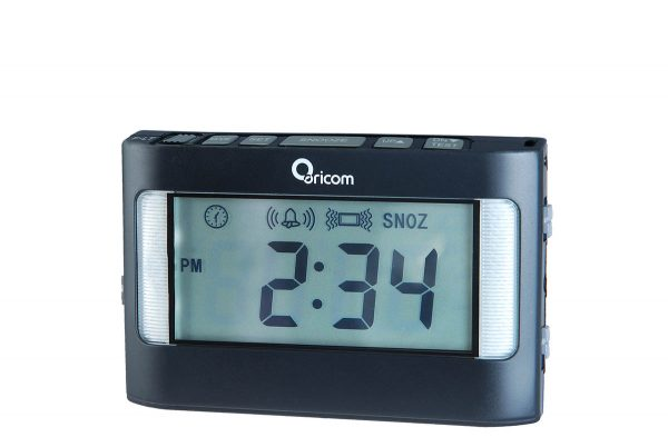 Oricom VAC500 Portable Vibrating Alarm Clock