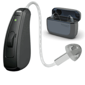 ReSound LiNX Quattro 9 rechargeable hearing aid