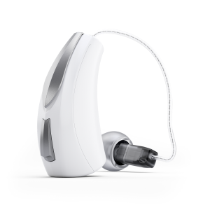 Starkey_Livio_AI_312_RIC_white_available_at_Key_to_Hearing