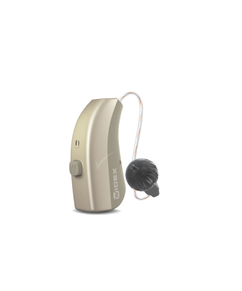 Widex MOMENT 110 RIC 312 D hearing aid