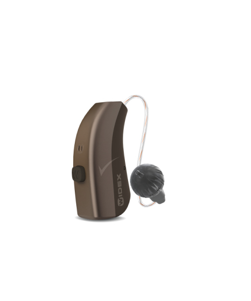 Widex MOMENT 220 RIC 312 D hearing aid